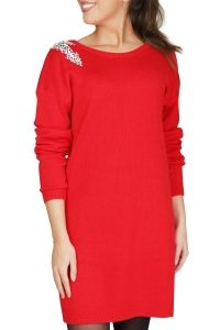 NIKKIE by Nikkie Plessen Jurk Rood KAYLA DRESS