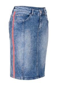 Rok jeans blauw Miss Etam