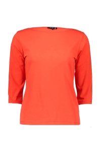 T-shirt oranjerood