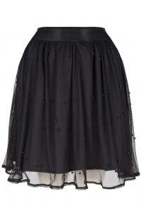 LOFTY MANNER Skirt josee black zwart