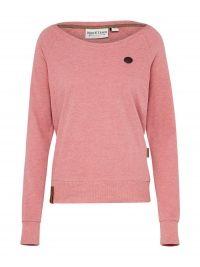 Naketano, Dames Sweatshirt 'Krokettenhorst', roze gemêleerd