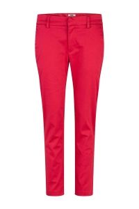 cropped slim fit chino