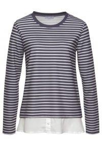 CHEER, Dames Sweatshirt, marine / wit