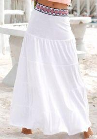 NU 15% KORTING: S.Oliver RED LABEL Beachwear lange strandrok