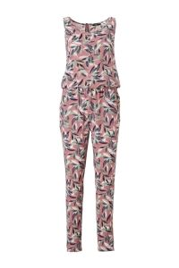 ONLY Printed Jumpsuit Dames Roze