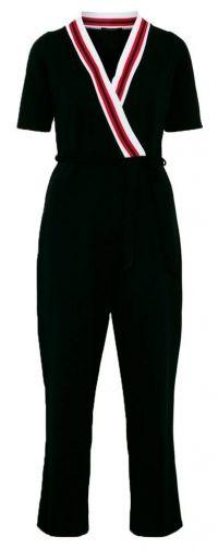 Sisters Point Jumpsuit cozy black zwart