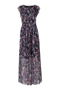 maxi jurk met bloemen