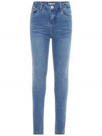 NAME IT Kids Slim Fit Superstretch High Waist Jeans Blauw
