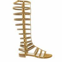 Stuart Weitzman sandalen 580 gladiator beige