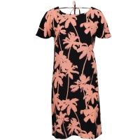 Freebird jurk ava-palm in het Zwart