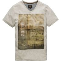 PME Legend - V-neck hobbs bone white melee