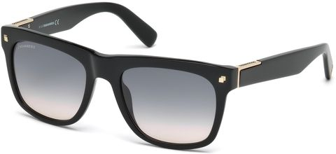 VIP goud glitter long sleeve t-shirt zwart voor heren