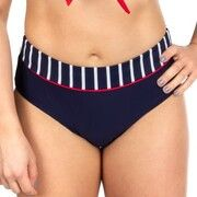 Trofe Navy Stripe Bikini Brief * Actie *