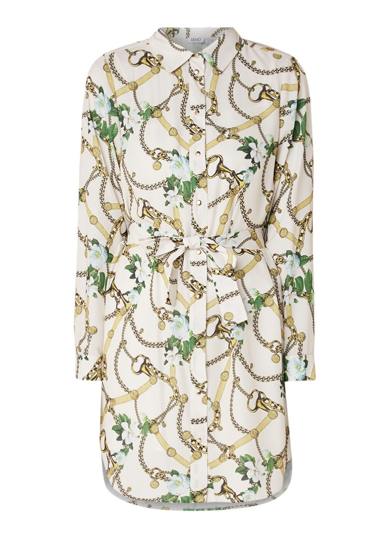 Profuomo Sjaal Navy Olive