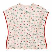 T-shirt met ronde hals en print Oeko Tex 1 mnd - 3 jr