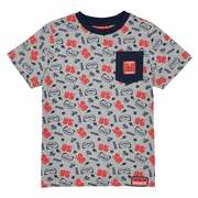 Bedrukt T-shirt 2 - 8 jr