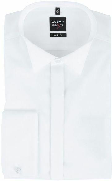 OLYMP Level Five Smokingoverhemd Body-Fit Wit