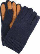 Profuomo Leren Handschoenen Navy