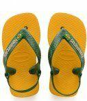 Havaianas-Slippers-Baby Flipflops Brasil Logo-Geel