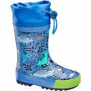 Blauwe regenlaars Cortina maat 23