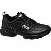 Zwarte chunky sneaker Fila maat 41