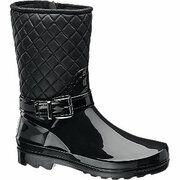 Zwarte lak regenlaars Graceland maat 39
