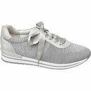 Grijze comfort sneaker lint veter Medicus maat 5.5