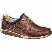 Bruine leren veterschoen AM shoe maat 41