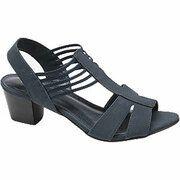 Donkerblauwe sandaal elastiek Graceland maat 36