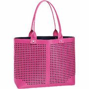 Fuchsia shopper perforatie Graceland maat