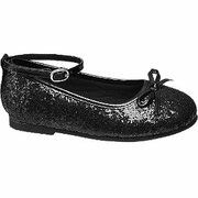 Zwarte ballerina glitters Cupcake Couture maat 26