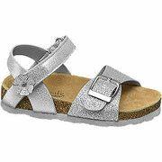 Zilveren sandaal glitters Cupcake Couture maat 30