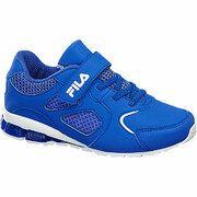 Blauwe sneaker klittenband Fila maat 32
