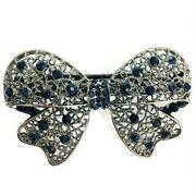 New Popular Hair Ornament Butterfly with Gold Diamond Hair Clip