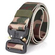 ENNIU Tactical Camouflage Nylon Military Training Outdoor Belt