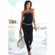 NU 15% KORTING: S.OLIVER RED LABEL Beachwear jumpsuit met gehaakt detail
