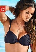 NU 21% KORTING: s.Oliver RED LABEL Beachwear gewatteerde top met beugels Spain
