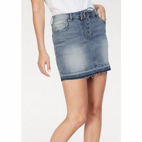 NU 15% KORTING: HaILYS jeansrok ENISA