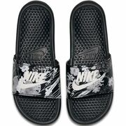 NU 15% KORTING: Nike Sportswear badslippers Wmns Benassi Just Do It
