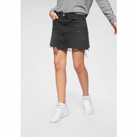 NU 15% KORTING: Levi's® jeansrok Deconstructed Skirt