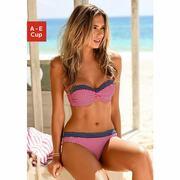 NU 15% KORTING: s.Oliver RED LABEL Beachwear beugel-bandeautop