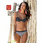 NU 15% KORTING: s.Oliver RED LABEL Beachwear top met beugels