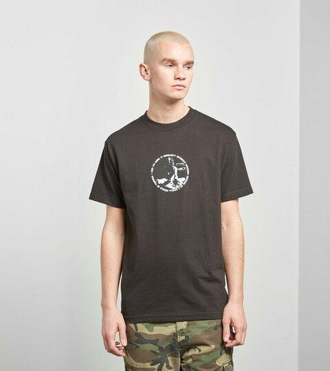 PLEASURES Fuzzy Long Sleeve T-Shirt, Zwart