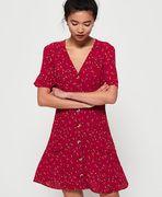 Superdry Darcy Button Through jurk