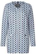 Vest met jacquardprint  - deep blue