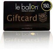 Le Ballon Giftcard Zwart 10000001