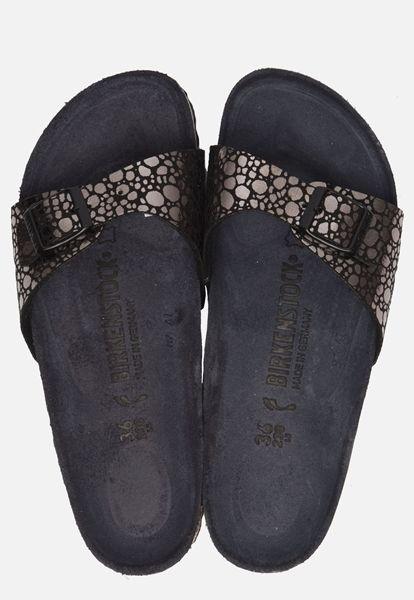 Zwarte Birkenstock Madrid Slippers