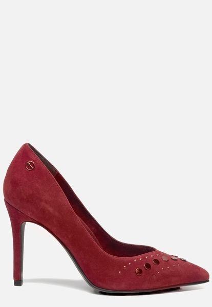 Rode Pumps High Heels Tamaris