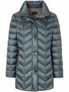 Gewatteerde donzen jas Van Basler blauw