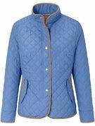 Gewatteerde jas Van Basler blauw